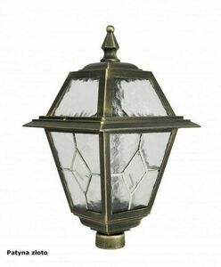 A small garden lamp with a stained-glass window (47 cm) - K 4011/1 / N small 3