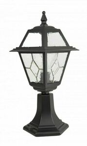 A small garden lamp with a stained-glass window (47 cm) - K 4011/1 / N small 0