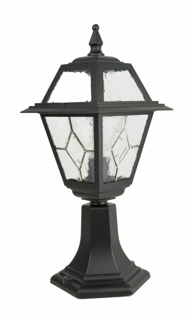 A small garden lamp with a stained-glass window (47 cm) - K 4011/1 / N