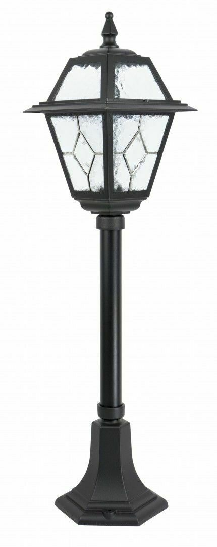 Small garden lantern with stained glass (80 cm) - K 5002/3 N