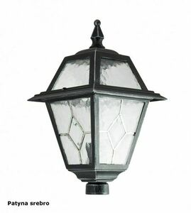 2-point adjustable garden lantern with a stained glass window (185 - 285 cm) - OGMWN 2 N small 4