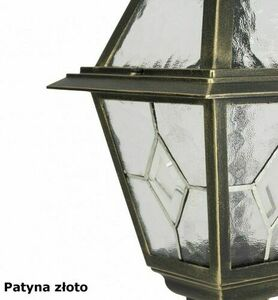 2-point adjustable garden lantern with a stained glass window (185 - 285 cm) - OGMWN 2 N small 6