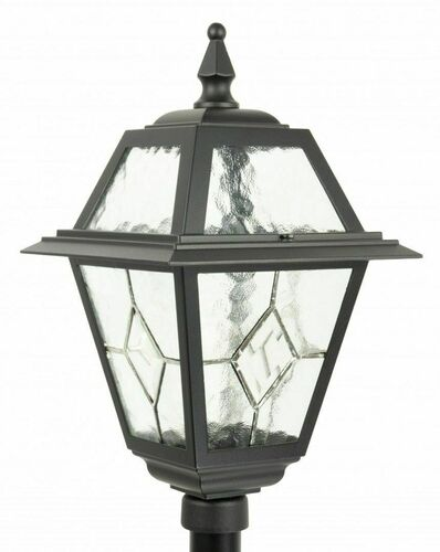 Small garden lantern with stained glass (110cm) - K 5002/2 N