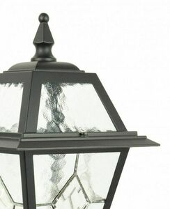 Small garden lantern with stained glass (110cm) - K 5002/2 N small 3