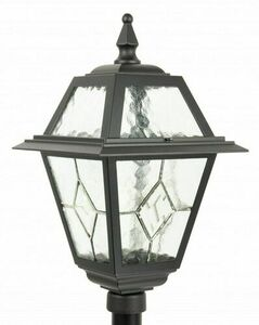 A small garden lantern with a stained glass (160 cm) - K 5002/1 N small 1