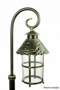 Mini standing garden lantern (86cm) - Toledo K 5002/3 / R small 3
