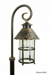 Mini standing garden lantern (86cm) - Toledo K 5002/3 / R small 5