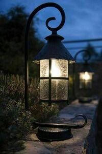 Mini standing garden lantern (86cm) - Toledo K 5002/3 / R small 6