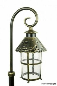 Garden lantern on a pendant (166cm) - Toledo K 5002/1 / R small 4