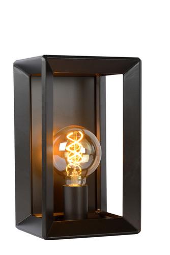 Wall light THUNDER BLACK iron E27