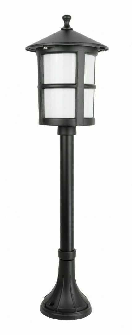 Garden lamp on a low post with a stained glass (71 cm) - Cordoba II K 5002/3 / TD