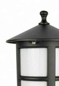 3-point garden lantern with matt white stained glass - Cordoba II OGMWN 3 TD small 2
