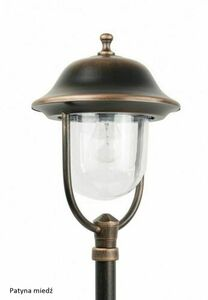 Classic Black Garden Lantern PRINCE K 5002/2 / O small 5