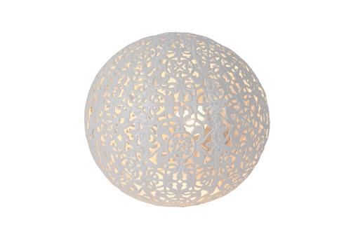 Table lamp POLO white metal G9