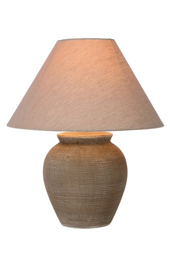 RAMSEY table lamp brown E27