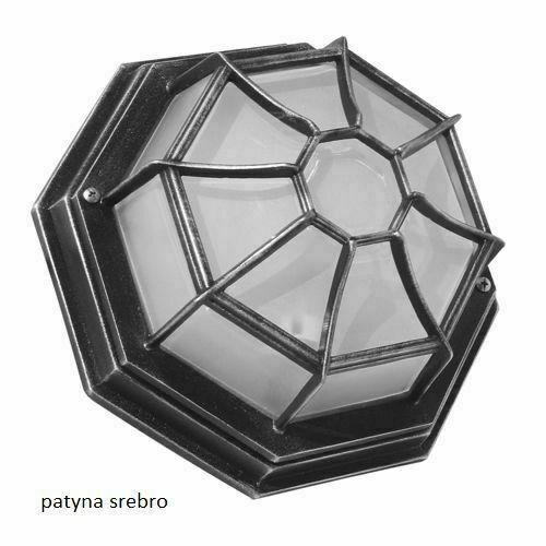 Garden lamp Retro Classic K 3012 / P SZ black