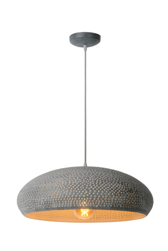 Hanging lamp COLANDO gray