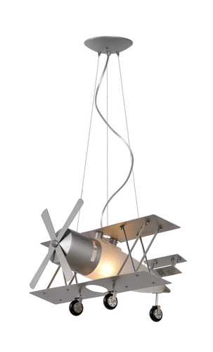 Hanging lamp FOCKER plane