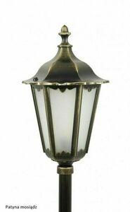 Garden lamp Retro Classic K 5002/3 (87 cm) Vintage black small 5