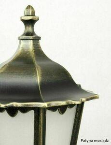 Garden lamp Retro Classic K 5002/3 (87 cm) Vintage black small 6