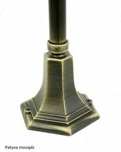 Garden lamp Retro Classic K 5002/3 (87 cm) Vintage black small 7
