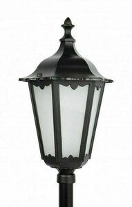 Garden lamp Retro Classic K 5002/2 (114 cm) Vintage black small 1