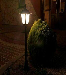 Garden lamp Retro Classic K 5002/2 (114 cm) Vintage black small 10
