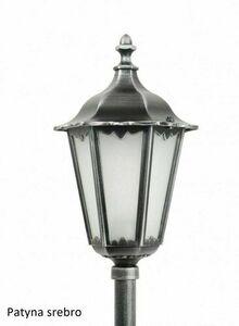 Garden lamp Retro Classic K 5002/2 (114 cm) Vintage black small 9