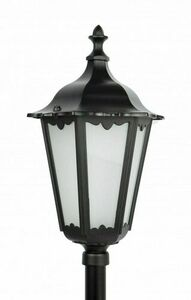Standing lamp Retro Classic K 5002/1 (164 cm) Vintage black small 0