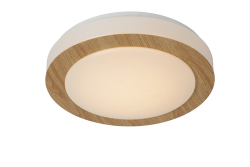 Bright Wooden Eyelet Ceiling DIMY LED 28.6 cm