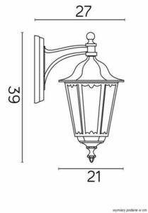 Facade wall lamp Retro Midi K 3012/1 / M d small 5
