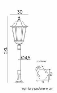 Retro Maxi K 5002/2 / BD 45 lantern small 6