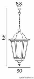 Hanging garden lamp Retro Maxi K 1018/1 / BD small 3