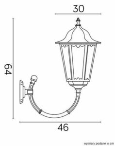 External wall lamp Retro Maxi K 3012/1 / BD g small 5