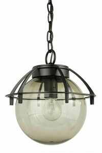 Outdoor pendant ball light with a basket 25cm small 1