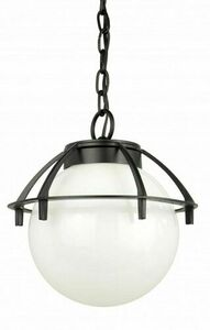 Outdoor pendant ball light with a basket 25cm small 0