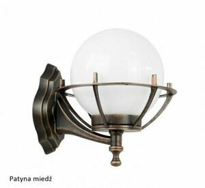 Outdoor wall lamp Kule with basket 200 K 3012/1 / KPO small 2