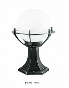 Lampa - ball with basket standing garden (39cm) - 200 K 4011/1 / KPO small 2