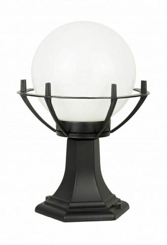 Lampa - ball with basket standing garden (39cm) - 200 K 4011/1 / KPO
