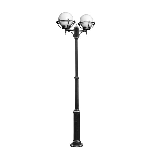 Adjustable lantern with 2-point balls in baskets (180 - 260 cm) - 200 OGMW2 KPO