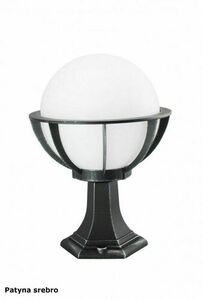 Lampa - ball with basket standing garden (43cm) - K 4011/1 / KPO 250 small 2