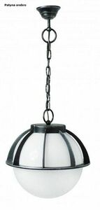 Outdoor pendant lamp Kule with a basket 250 K 1018/1 / KPO 250 small 3