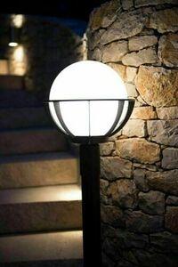 Lamp - globe with basket standing garden (90 cm) - K 5002/2 / KPO 250 small 6