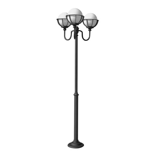 Adjustable lantern - 3-point with balls in baskets (145 - 245 cm) - OGM3 KPO 250
