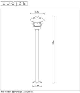 Outdoor standing lamp ZICO 11874/99/12 small 1