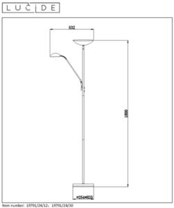 Floor lamp ZENITH black small 1