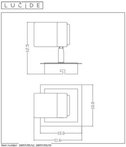 Plafon, Spot LENNERT 26957/05/12 small 1