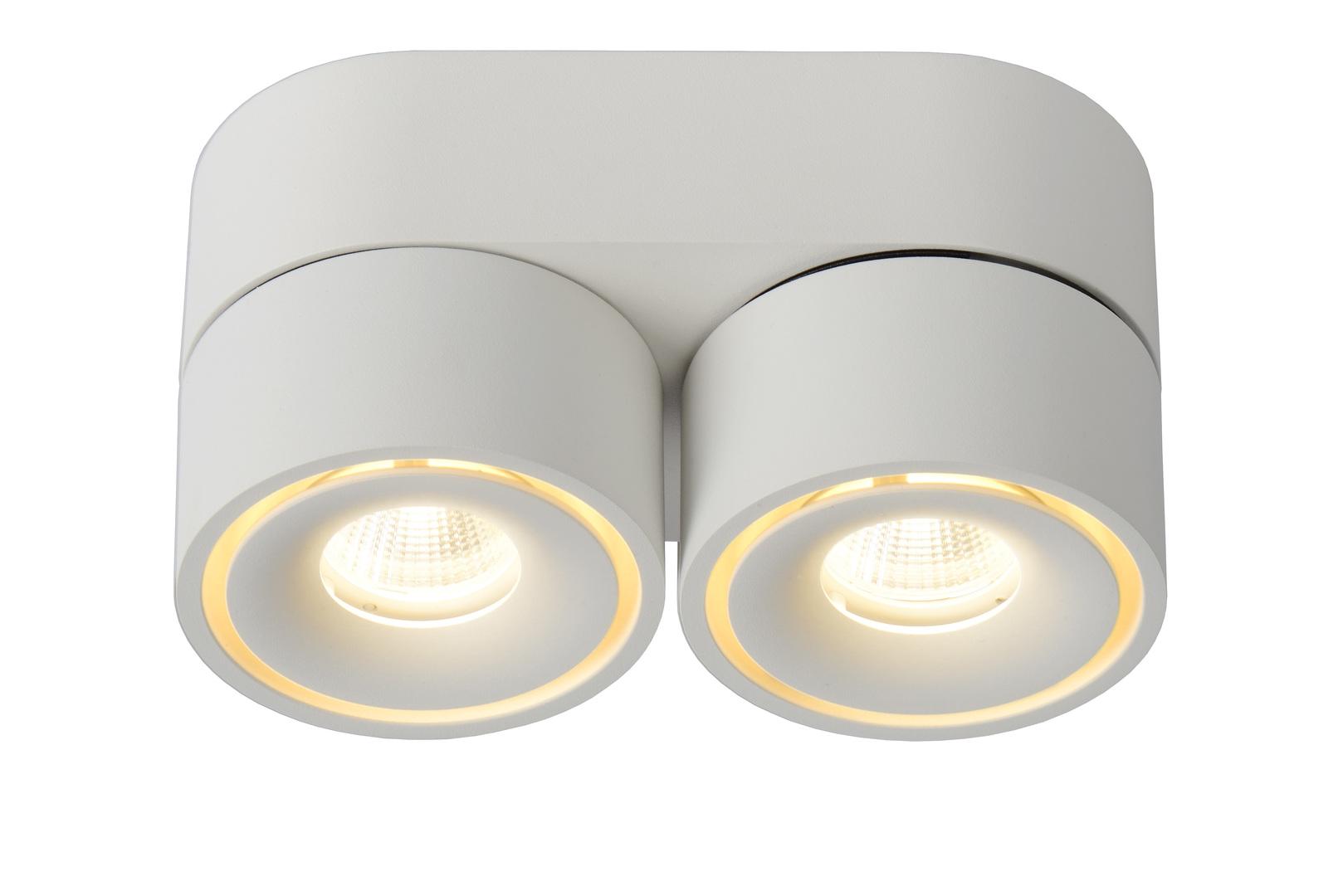 Ceiling spot spot MIKO white aluminum LED