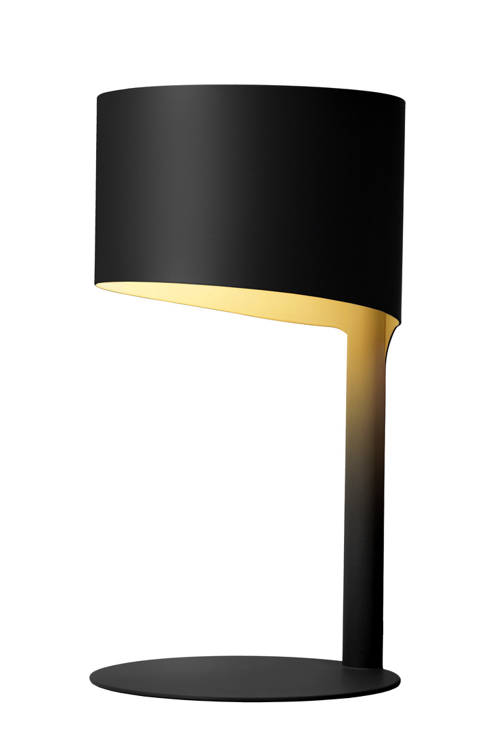 KNULLE table lamp, black