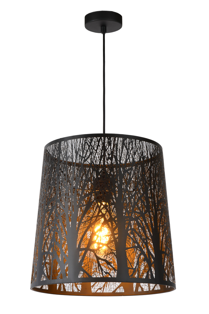 Hanging lamp GARELL black